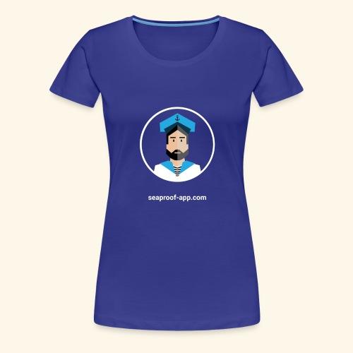 SeaProof App - Frauen Premium T-Shirt