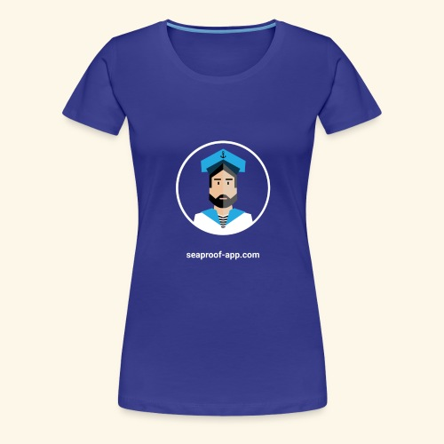 SeaProof App - Frauen Premium T-Shirt