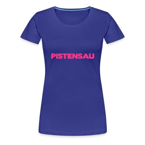 Ski Shirt Pistensau - Frauen Premium T-Shirt