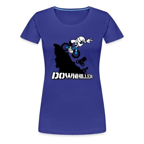 Downhiller - Frauen Premium T-Shirt