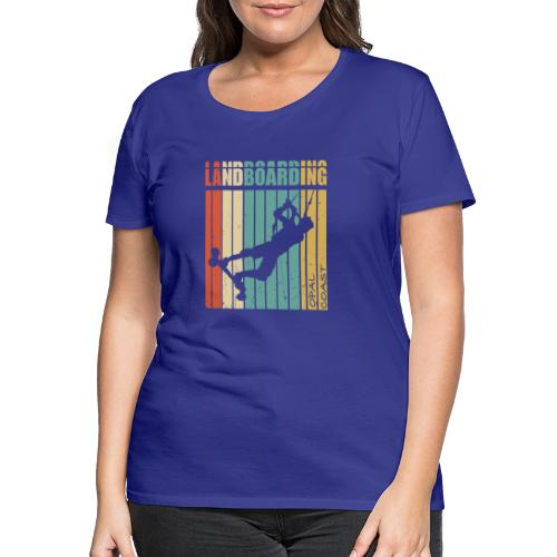 Kite Landboarding OPAL COAST - T-shirt Premium Femme