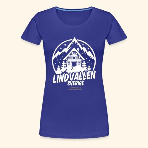 Lindvallen Sälen Sverige Ski Resort T Shirt Design - Frauen Premium T-Shirt