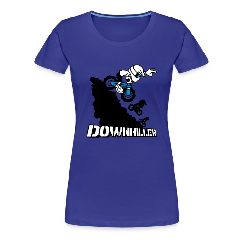 Downhiller - Frauen Premium T-Shirt