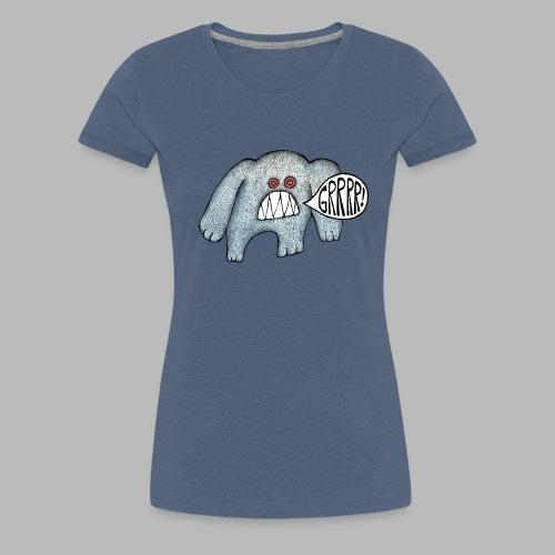 with added GRRRR - Women's Premium T-Shirt