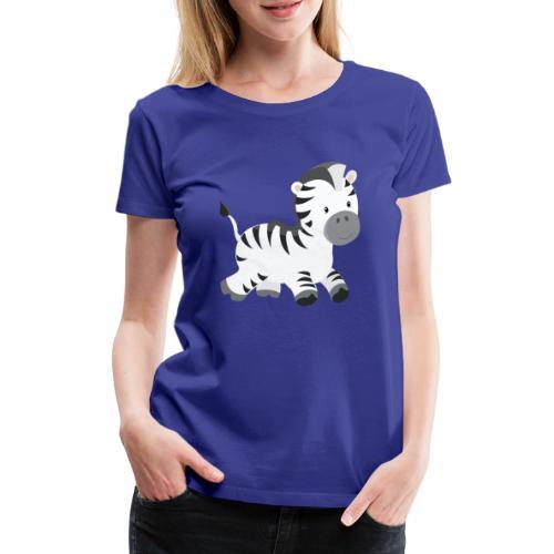 Zebra - Frauen Premium T-Shirt