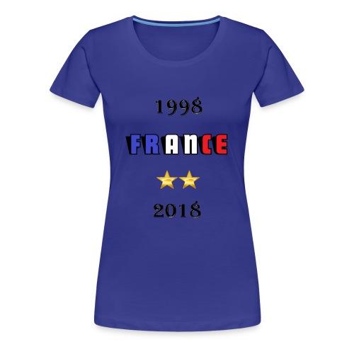 France 1998 2018 - T-shirt Premium Femme