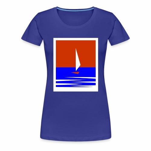 Segeln - Frauen Premium T-Shirt
