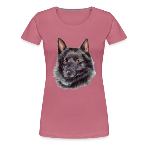 schipperke - M - Dame premium T-shirt