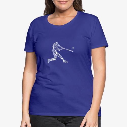 Joueur de baseball - T-shirt Premium Femme