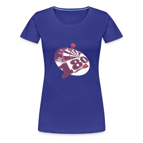 Darts 180 - Vrouwen Premium T-shirt