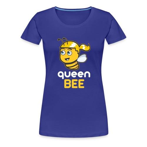 Imker: The Queen BEE - Frauen Premium T-Shirt