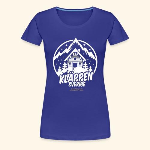 Kläppen Sälen Sverige Ski Resort T Shirt Design - Frauen Premium T-Shirt