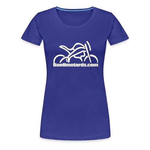 logo buellmotards - Camiseta premium mujer