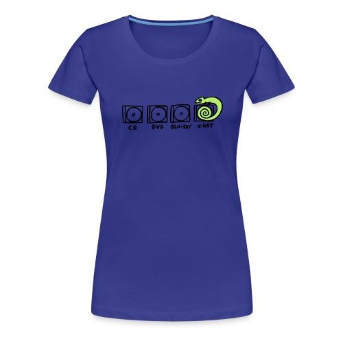 xnet vektormotiv - Frauen Premium T-Shirt
