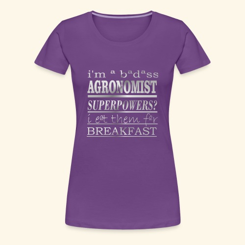AGRONOMIST - Maglietta Premium da donna
