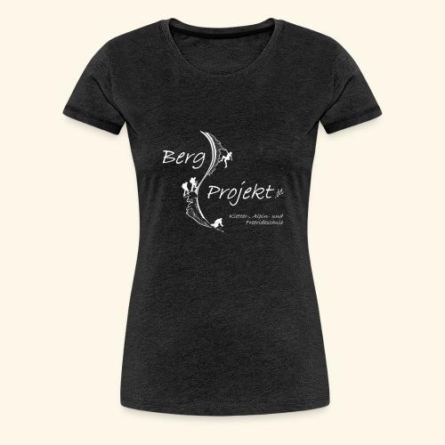BP transp Schrift - Frauen Premium T-Shirt