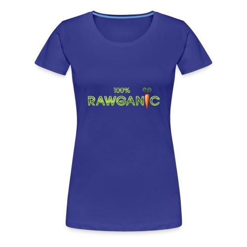 100% Rawganic Rohkost Möhre - Frauen Premium T-Shirt