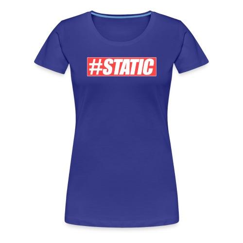 Static Red Brand png - Frauen Premium T-Shirt