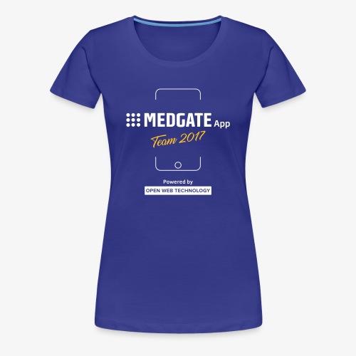 Medgate App Team 2017 Dark - Frauen Premium T-Shirt