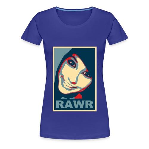 rawr big - Women's Premium T-Shirt