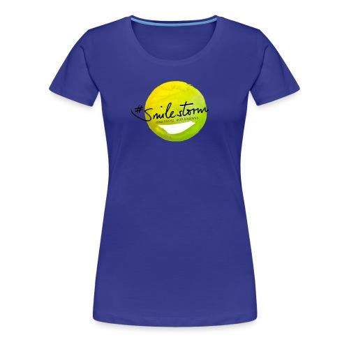 smilestorm lemon - Frauen Premium T-Shirt