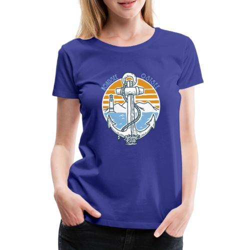 Ankerpunkt Nordsee Ostsee - Frauen Premium T-Shirt