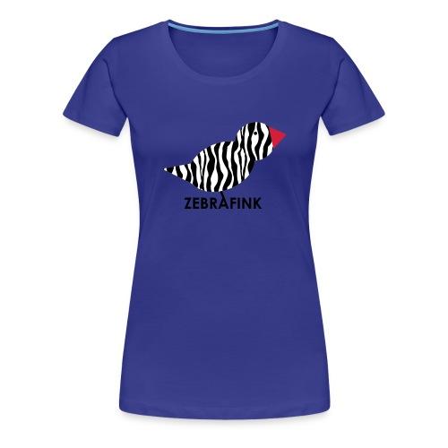 Zebrafink - Frauen Premium T-Shirt