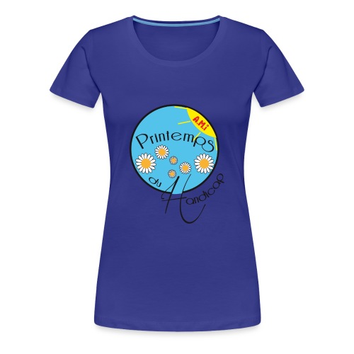 LE PRINTEMPS HANDICAP EN SAVOIE - T-shirt Premium Femme