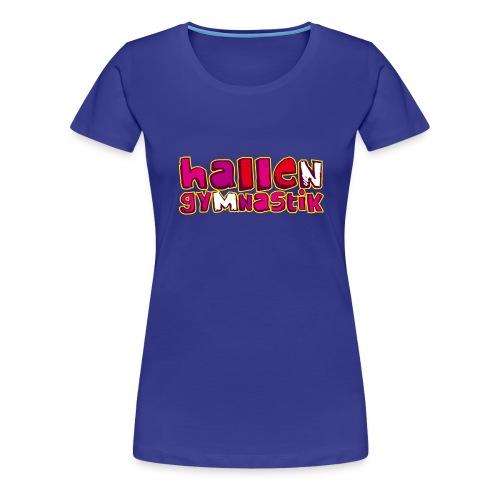HALLENGYMNASTIK - Frauen Premium T-Shirt