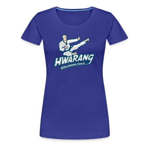 Hwarang logo v2 - Naisten premium t-paita