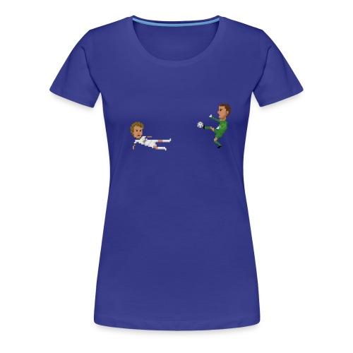Kung fu save - Women's Premium T-Shirt