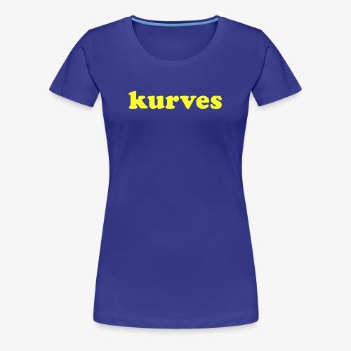 KURVES X - T-shirt Premium Femme