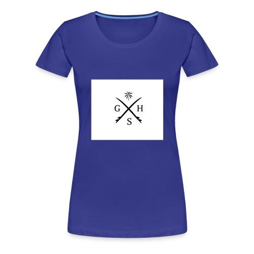 Remera Estilo Surf - Camiseta premium mujer