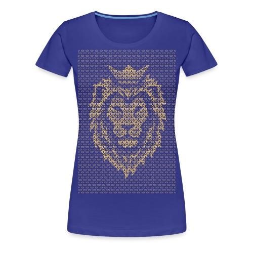 Lion Crown - Women's Premium T-Shirt