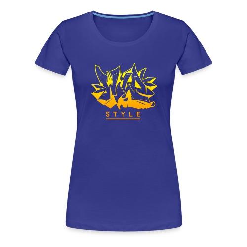 Wild Style Burner - Dame premium T-shirt