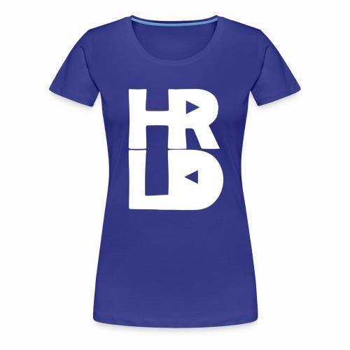 HRLD White Logo - Naisten premium t-paita