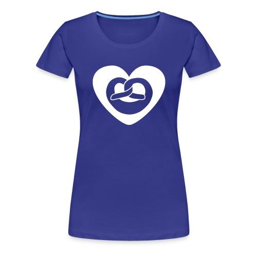 Brezel - Frauen Premium T-Shirt