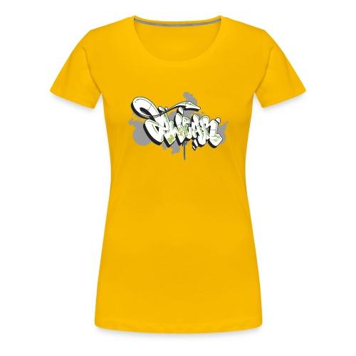 Mesk 2Wear graffiti style 7up ver02 - Dame premium T-shirt
