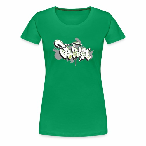 Mesk 2Wear graffiti style 7up ver02 - Dame premium T-shirt
