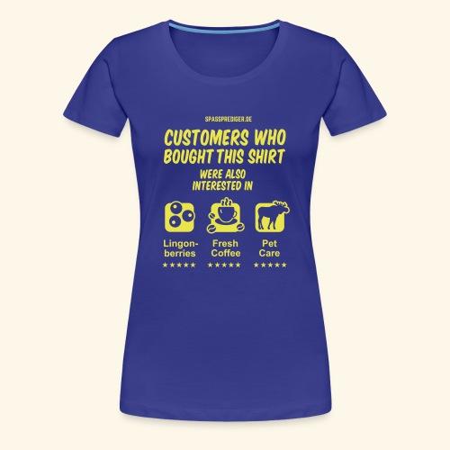 Recommendation, Sweden - Frauen Premium T-Shirt