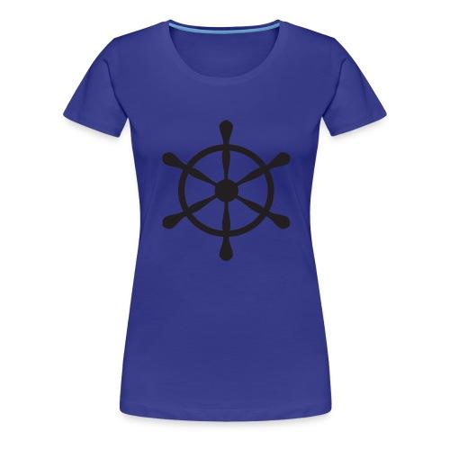 Steuerrad - Frauen Premium T-Shirt