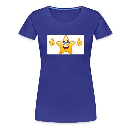 star-smiley-234 - Maglietta Premium da donna