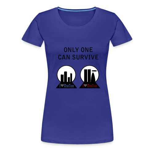 Fringe only one can survive - Camiseta premium mujer