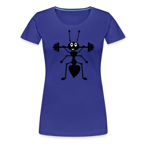 Ameise_schwarz_1 - Frauen Premium T-Shirt