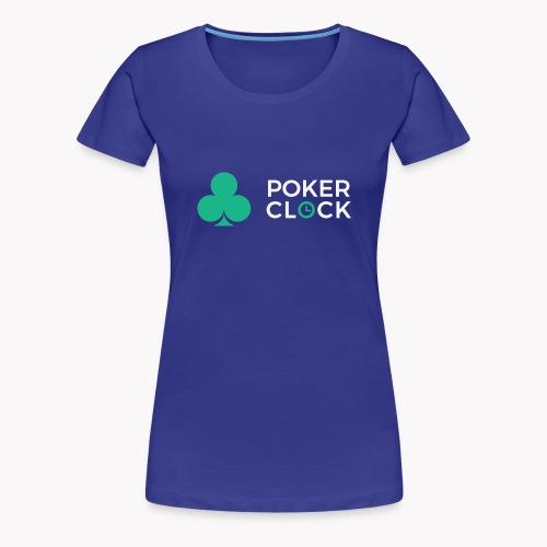 Poker Clock Logo - Frauen Premium T-Shirt