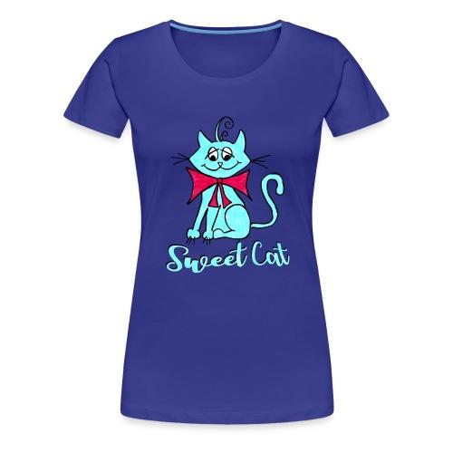 Niedliche kleine blaue Katze, Sweet! - Frauen Premium T-Shirt
