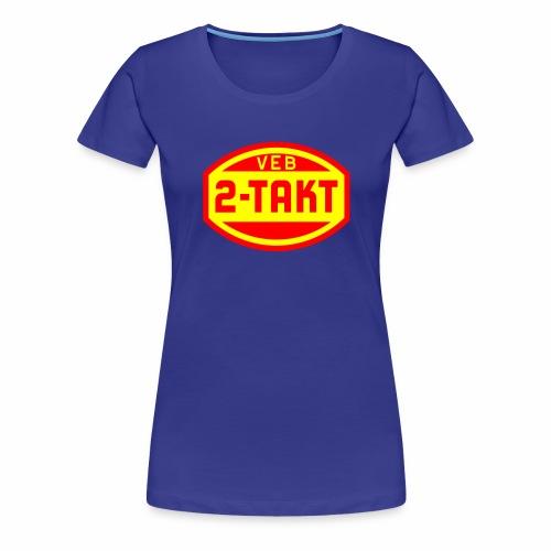 VEB 2-Takt Logo (2c) - Women's Premium T-Shirt