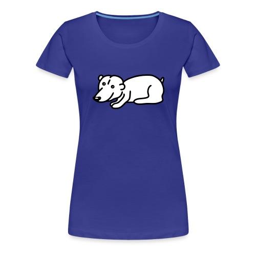 Baby Eisbär - V2 - Frauen Premium T-Shirt