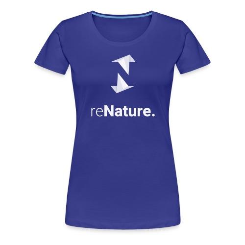 reNature T-Shirt - Vrouwen Premium T-shirt
