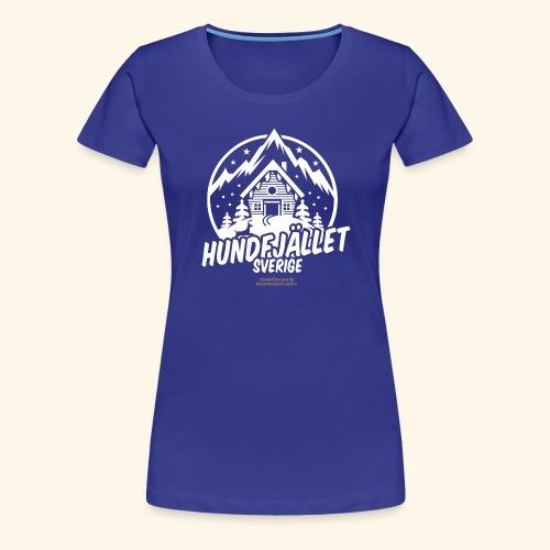 Sverige Ski Resort Sälen Hundfjället Design - Frauen Premium T-Shirt